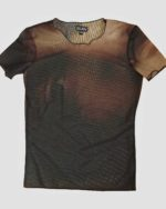SHORT SLEEVE SHEER TOP – Clan