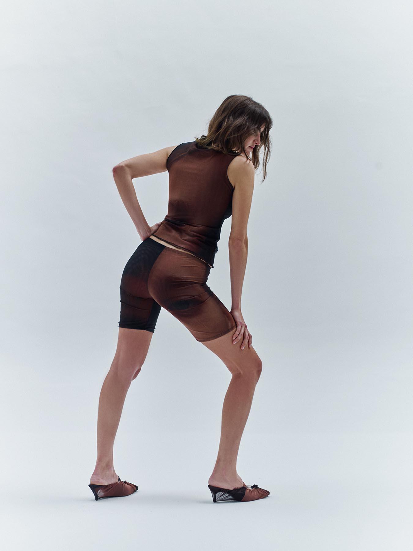 Mesh Biker Shorts – CLAN